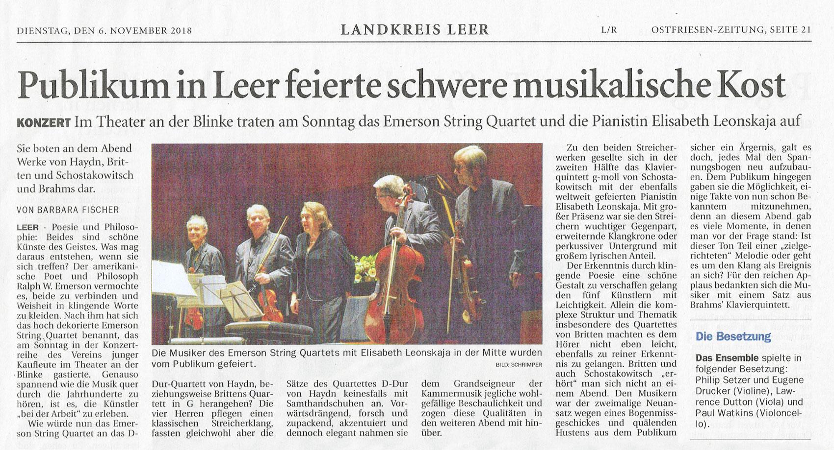 3  Meisterkonzert: Streichquartett mit Klavier – Verein